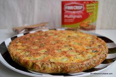 Tarta cu branza sarata si Finn Crisp (2) Bun Bun, Quiche, Crisp, Vegetables, Breakfast, Food, Pie, Morning Coffee, Essen