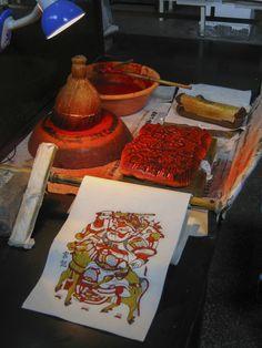 Printmaking, Japanese, Image, Prints, Painting, Food, Art, Art Background, Japanese Language