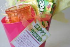 Teacher summer break gift.