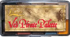 PPI Skin Illustrator Ves Pirate Makeup Palette * Check out this great product.