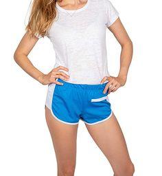 f6005a5cc1 ShooK Women s Yoga Gym Shorts Sports Workout Pants Retro Summer Beach at Amazon  Women s Clothing store