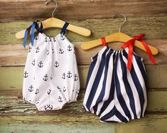 Beach Bubble Romper Sunsuit Anchors Navy Summer baby clothes girls nautical cake smash outfit coming home outfit fourth of july For Sale on Etsy Store Baby Girl Romper, Baby Girl Dresses, Baby Bodysuit, Anchor Dress, Cake Smash Outfit, Coming Home Outfit, Cute Baby Clothes, Baby Girl Clothes Summer, Handmade Baby Clothes