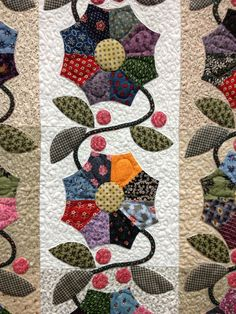 A Quilt and A Prayer: Promised Quilt Show- inspiration for applique work and fabric combos.