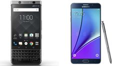 BlackBerry KEYone vs Samsung Galaxy Note5 Subscribe! http://youtube.com/TechSpaceReview More http://TechSpaceReview.tumblr.com