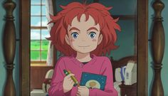 Starved Studio Ghibli fans now have something new to look forward to. Yesterday, Ghibli veterans, under the auspices of Studio Ponoc, released a trailer for a fantastical, Ghibliesque movie called Mary and the Witch's Flower,slated for Summer, 2017.