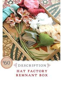Hat factory remnants.