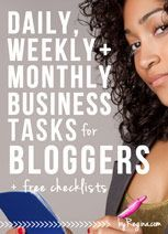 Starting A Blog? Starting A Creative Business? Getting serious about blogging? Looking for ninja business tools?