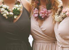 Wedding Alternative Bouquet Ideas - Custom Bridesmaid Leis