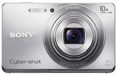 Sony Cyber-shot DSC-W690  16.1 MP Digital Camera with 10x Optical Zoom and  3.0 inch LCD (Silver) 2012 Model - Shoot beautiful photos and HD 720p video with the slim Sony 16.1MP DSC-W690. Get close to your subject with the stabilized 10X optical zoom lens, use its colorful 3.0 inch LCD to compose and share images, and select the iSCN mode to automatically set the best exposure for tricky scenes. SALE PRICE $138.00 US