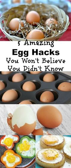 5 Amazing Egg Hacks
