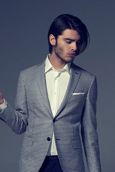 Chic Hipster Long Hairstyle for Men