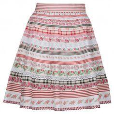 """Lena Hoschek ribbon skirt """"Strawberry"""""""