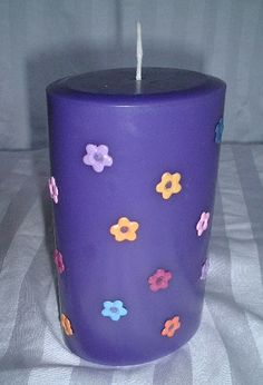 Handmade candle by XO Candles & Clay