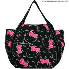 d83694d15 Hello Kitty limited version Mother Tote Bag Japan Sanrio 4031 F/S #