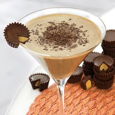 Take the sweet-chocolate taste of African cacao and vanilla from Madagascar, combine it with creamy milk, peanut butter and the smooth, soft taste of Pinnacle® Vodka and you've got a peanut butter martini recipe that's rich and flavorful. Try it as an after-meal indulgence or just enjoy a peanut butter cup martini by itself for a dessert unlike any other.