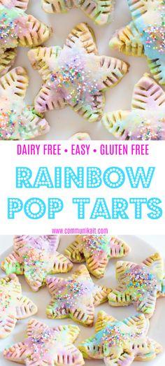 vitamix rainbow pop tarts
