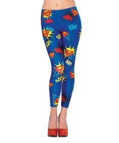 Look what I found on #zulily! Supergirl Leggings - Women #zulilyfinds