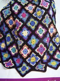 Spectrum Crocheted Afghan