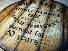 Custom rustic barrel head sign inspired by old whiskey barrels Aged Whiskey, Oldest Whiskey, Whiskey Barrels, Rustic Wood Wall Decor, Man Cave Furniture, Personalized Gifts For Men, Decorative Signs, Wooden Plaques, Bar Signs