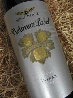 Wolf Blass Shiraz. Among the best.