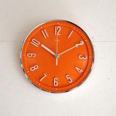 イギリスヴィンテージ METAMEC社クロック(時計)/壁掛け H8