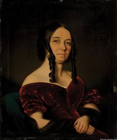 William Mellville, Lady Smith,1842. Oil on board, 6 x 5 inch. Museum Africa