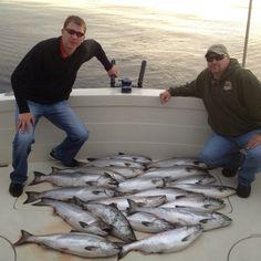 Great Morning from Algoma, WI - Kinn's Sport Fishing.