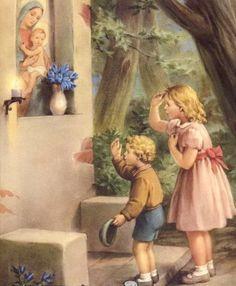 Posts about Katolisitas written by Catholic Prayers, Catholic Art, Roman Catholic, Religious Art, Blessed Mother Mary, Blessed Virgin Mary, Romantic Paintings, Beautiful Paintings, Catholic Religion