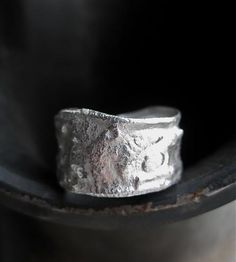 Go With The Flow Silver Band by Union Studio Metals on Scoutmob Shoppe