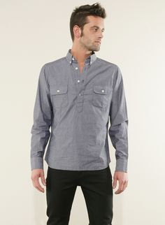 Pullover Chambray