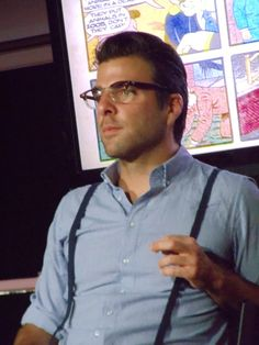Zachary Quinto is my favorite.