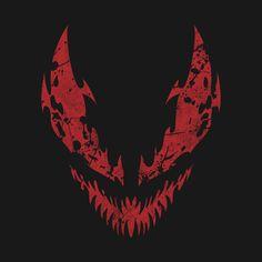 Shop Carnage carnage t-shirts designed by cashfish as well as other carnage merchandise at TeePublic. Marvel Universe, Marvel E Dc, Marvel Comics Art, Venom Spiderman, Marvel Venom, Marvel Villains, Marvel Wallpaper, Dark Wallpaper, Punisher