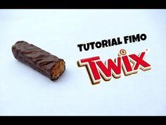 Tuto Fimo TWIX - polymer clay tutorial