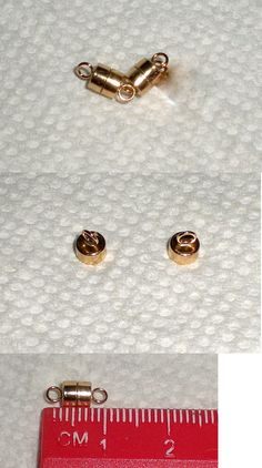 Clasps and Hooks 67716 14K Yellow Gold Pearl Bead Ball Jewelry