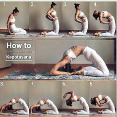 How to Kapotasana ✰ Yoga Goals✰ #AbWorkoutPlans