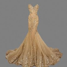 High Quality Cheap Luxury Fishtail Long Evening Dresses China Sweetheart Popular Mermaid Gold Prom Dresses 2016 Long Women Formal Dresses for Wedding Party Wear
