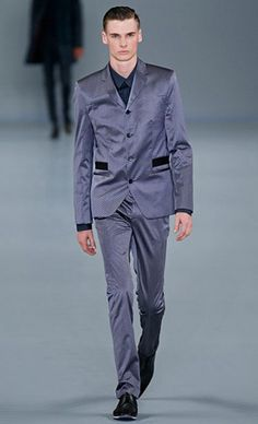 HUGO BY HUGO BOSS SS13 Double Breasted Suit, Hugo Boss, Suit Jacket, Vogue, Spring Summer, Suits, Formal, Chic, Jackets