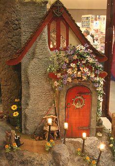 Fairy doors in the garden Fairy doors Tree trunks and Elves