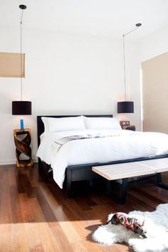 Light & Natural Textured Bedroom