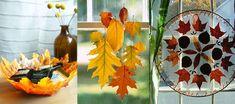 hojas otono manualidades Hojas de otoño para decorar
