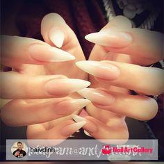 Baby-Boomer Nails by haivdinh via Nail Art Gallery #nailartgallery #nailart…