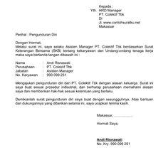 Contoh Surat Lamaran Kerja Swalayan Supermarket Mol Dan Toko