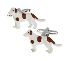 Latest additions to our shop: Spotted Dog, White & Brown, see it here: http://cuffmenow.com/products/spotted-dog-white-brown #cuffmenow