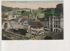 Alte AK Tschechien Karlsbad Dr Becher Platz Handkolorierte | eBay Alter, Big Ben, Building, Painting, Travel, Ebay, Belgium, Tumblers, Viajes
