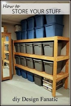35+ DIY Garage Storage Ideas To Help You Reinvent Your Garage On A Budget – Cute DIY Projects http://garageremodelgenius.com/category/garage-remodel-tips/ #garageremodeling  #remodelingtips