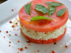 Watermelon and Feta Stacks