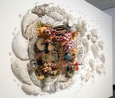 Our Changing Seas: A Ceramic Coral Reef by Courtney Mattison – Ceramic Art, Ceramic Pottery Ceramic Pottery, Ceramic Art, Glazed Ceramic, Cerámica Ideas, Verre Design, Colossal Art, Paperclay, Museum Of Contemporary Art, Art Plastique