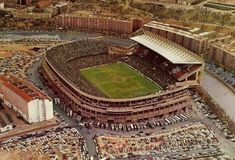 Estadio Vicente Calderón in 1975, Atlético de Madrid