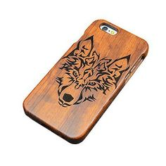 Natural Bamboo Wood Phone Case For Samsung And Apple phones