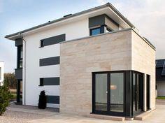 WDVS-Fassaden mit echtem Sandstein-Finish von Knauf